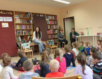 Zážitkové čítanie s našimi škôlkármi